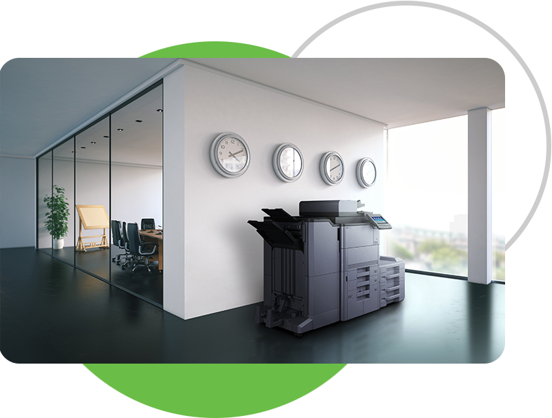 office with printer